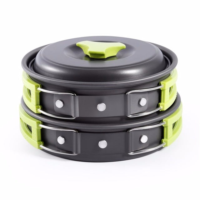 New 8PCS Portable Outdoor Cooking Tool Picnic BBQ - adventuresinoutdoorfun.com, Camping,
