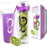 Fruit Infuser With Insulation Sleeve & Time Marks - adventuresinoutdoorfun.com, Camping,