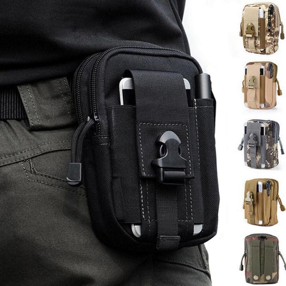 TAK YIYING Tactical Molle Pouch Belt Waist Bag Military Fanny Pack Outdoor Pouches Phone Case Pocket For Hunting Bags - adventures-is-shopping