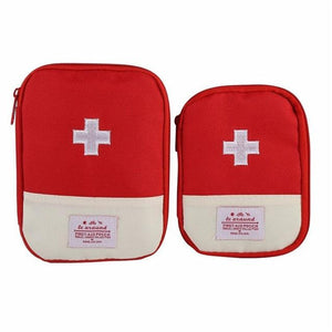 Outdoor First Aid Emergency Medical Bag Medicine Drug Pill Box Home Car Survival Kit Emerge Case Small 600D Oxford Pouch - adventuresinoutdoorfun.com, [product_type],