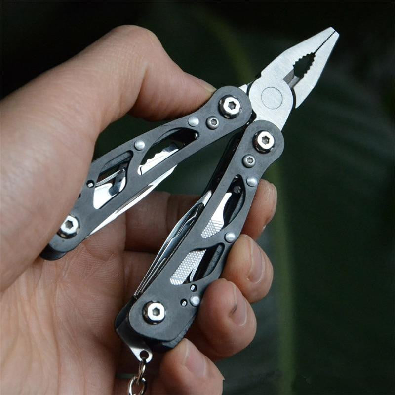 Outdoor Camping Survival Tools Multitool Tactical Pliers Versatile Repair Folding Screwdriver Military Stainless Steel EDC Gear - adventuresinoutdoorfun.com, [product_type],