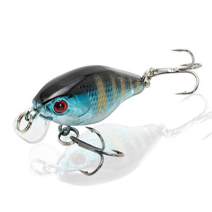 YUEWINS Minnow Fishing Lure 45mm 4.4g Crankbait Hard Bait Topwater artificial Wobblers Bass Carp lures Fishing tackle TP304 - adventuresinoutdoorfun.com, Fishing Lure,