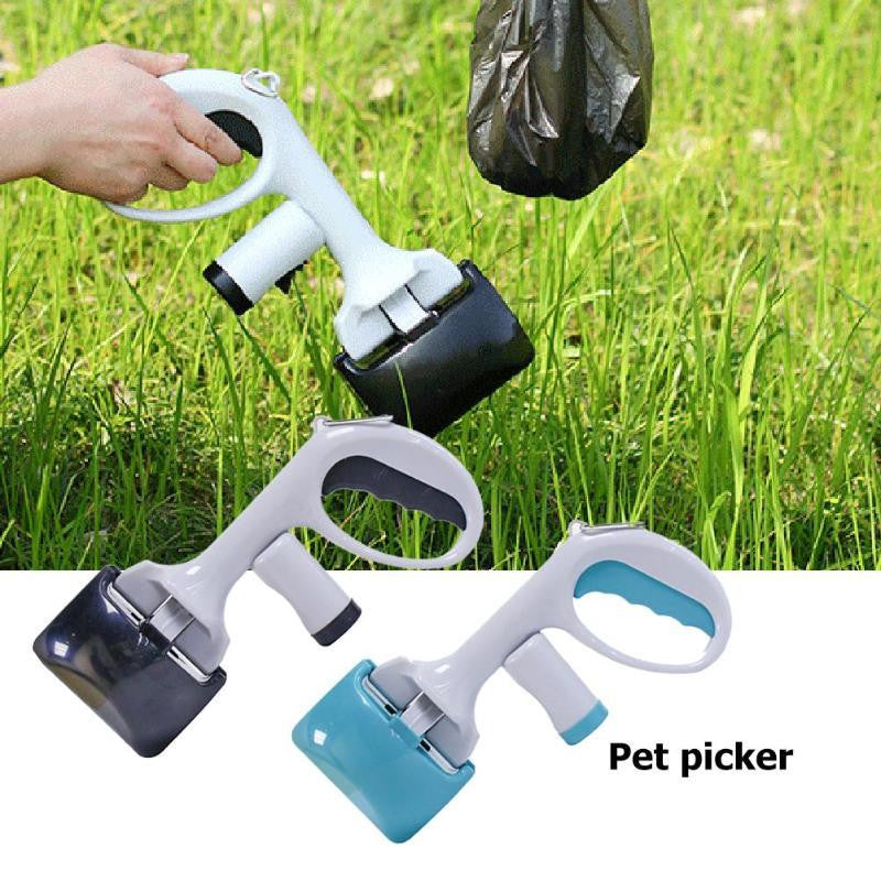 Pet Pooper Scooper Outdoor Dog Puppy Cat Waste Picker Remover Garbage Bag - adventuresinoutdoorfun.com, Pets,