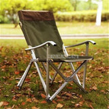Portable Folding Fishing Chair 600D Oxford Fabric Aluminium Tube Backrest Foldable Picnic Camping Outdoor Beach Chair With Bag - adventures-is-shopping