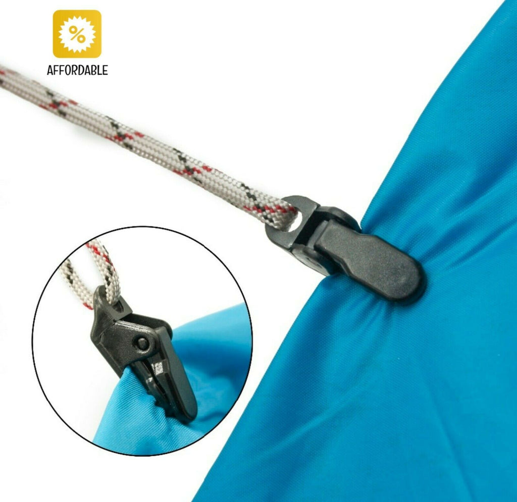 Clip Tent Pull Point Outdoor Camping Tent Alligator Point Hook Buckle For Tent