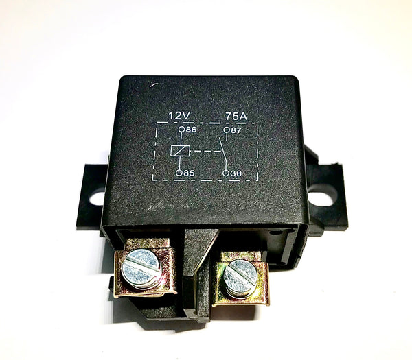 Heavy Duty 12 Volt 75 Amp SPST Large Tyco Style Relay