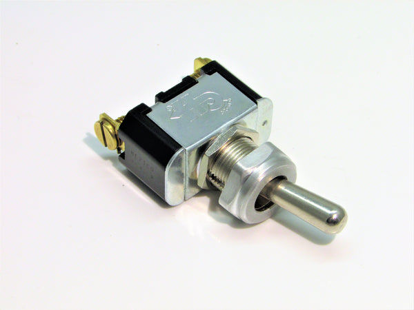 Heavy Duty On-Off Toggle Switch With Aluminum Bezel
