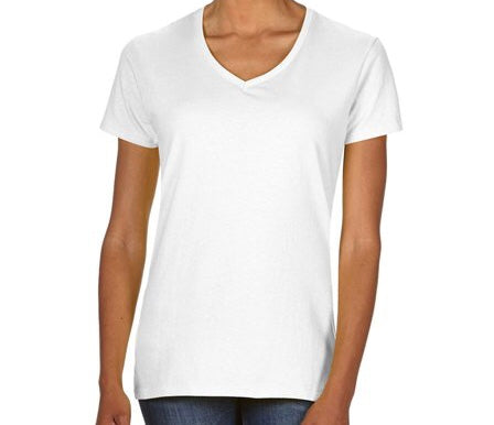 Heavy Cotton V-Neck T-Shirt