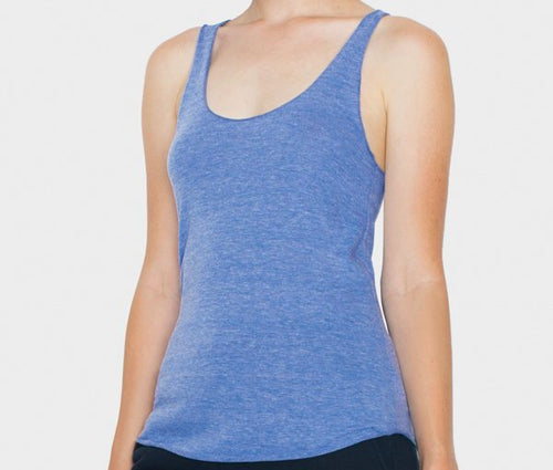 Triblend Racer-back Tank Top