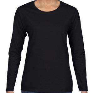 Heavy Cotton Semi Fitted Long Sleeve