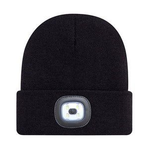 Cuffed Toque with LED light