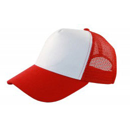 Cotton Mesh Trucker Cap