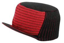 Load image into Gallery viewer, Ultra Soft Acrylic Trucker Knit 2-Tone Beanie with Brim