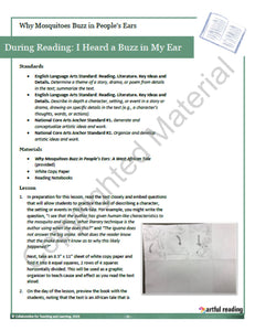 Why Mosquitoes Buzz in People's Ears (4th Grade: Series 2)