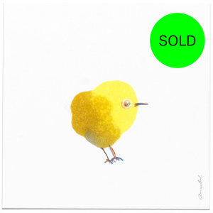 INKDROP BIRD NO.026 - YELLOW - ORIGINAL DRAWING
