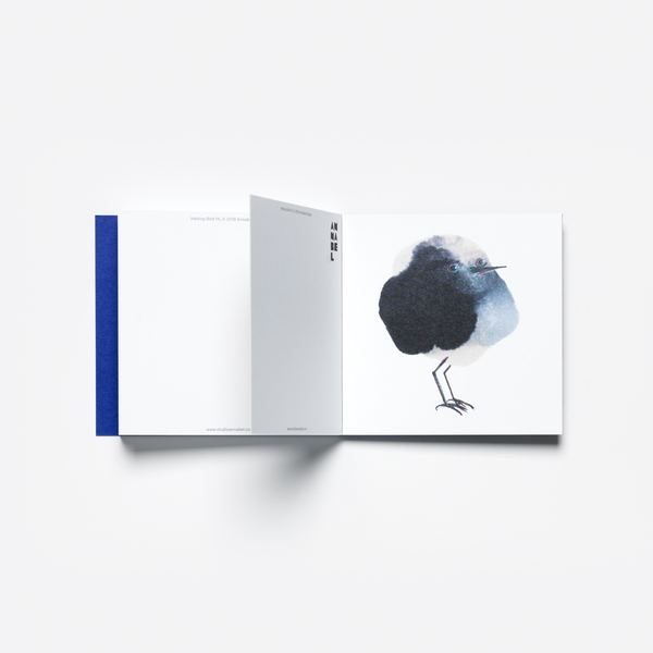 INKDROP BIRD ART CARD BOOKLET - LIMITED EDITION -