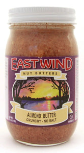 Natural Almond Butter Crunchy 16 oz