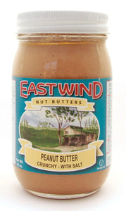 Natural Peanut Butter Crunchy With Sea Salt 16 oz