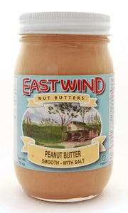 Natural Peanut Butter Smooth With Sea Salt 16 oz