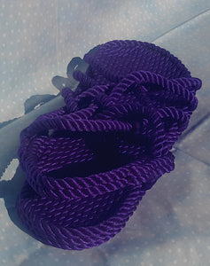 Purple Rope Sandals