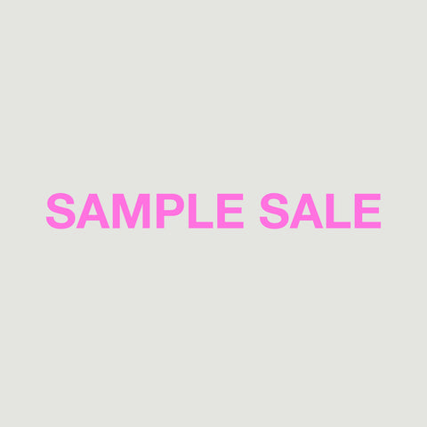 SAMPLE SALE £40