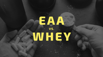 Essential Amino Acids (EAA) vs Whey Protein: Which one is right for me?