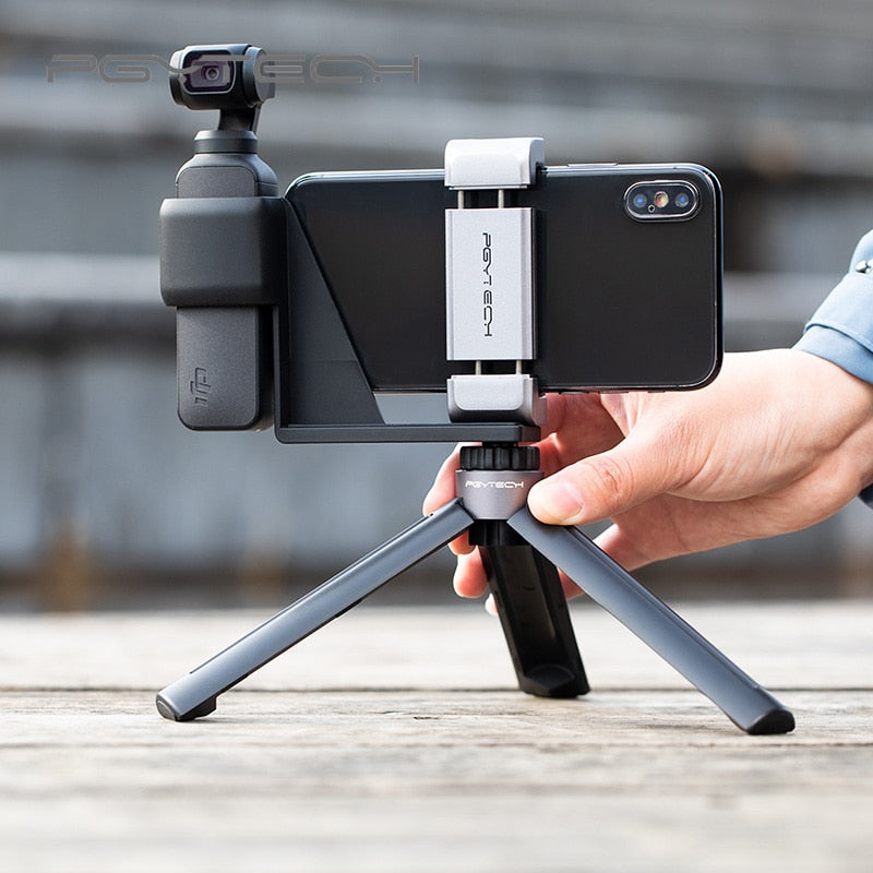 Car Phone Mount Cell Phone Holder Gimbal Tripod With Osmo pocket