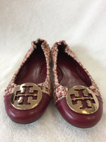 Authentic Tory Burch Tweed Flats Women's Size 39 / 8