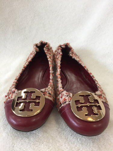 Tory Burch Tweed Flats Women's Size 39 / 8