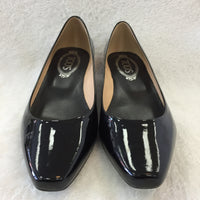 Authentic Tod's Black Patent Wedges Women's 37 / 6