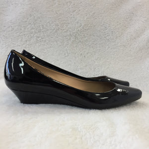 Tod's Black Patent Wedges Women's 37 / 6
