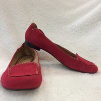Authentic Kate Spade Red Suede Myra Flats Women's 36-37 / 6