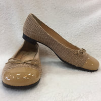 Authentic Kate Spade Nude Tweedy Ballet Flats Women's 36-37 / 6