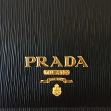Load image into Gallery viewer, Prada Black Saffiano Leather Card Holder
