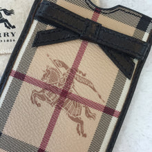 Load image into Gallery viewer, Burberry Horseferry Check Small Phone Pouch