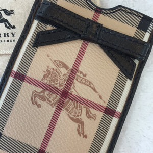 Burberry Horseferry Check Small Phone Pouch
