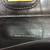 Authentic Chanel Black Calfskin Mademoiselle Wallet