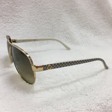 Load image into Gallery viewer, Gucci Ivory/Gold Aviators