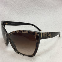 Authentic Dolce & Gabbana Leopard Sunglasses