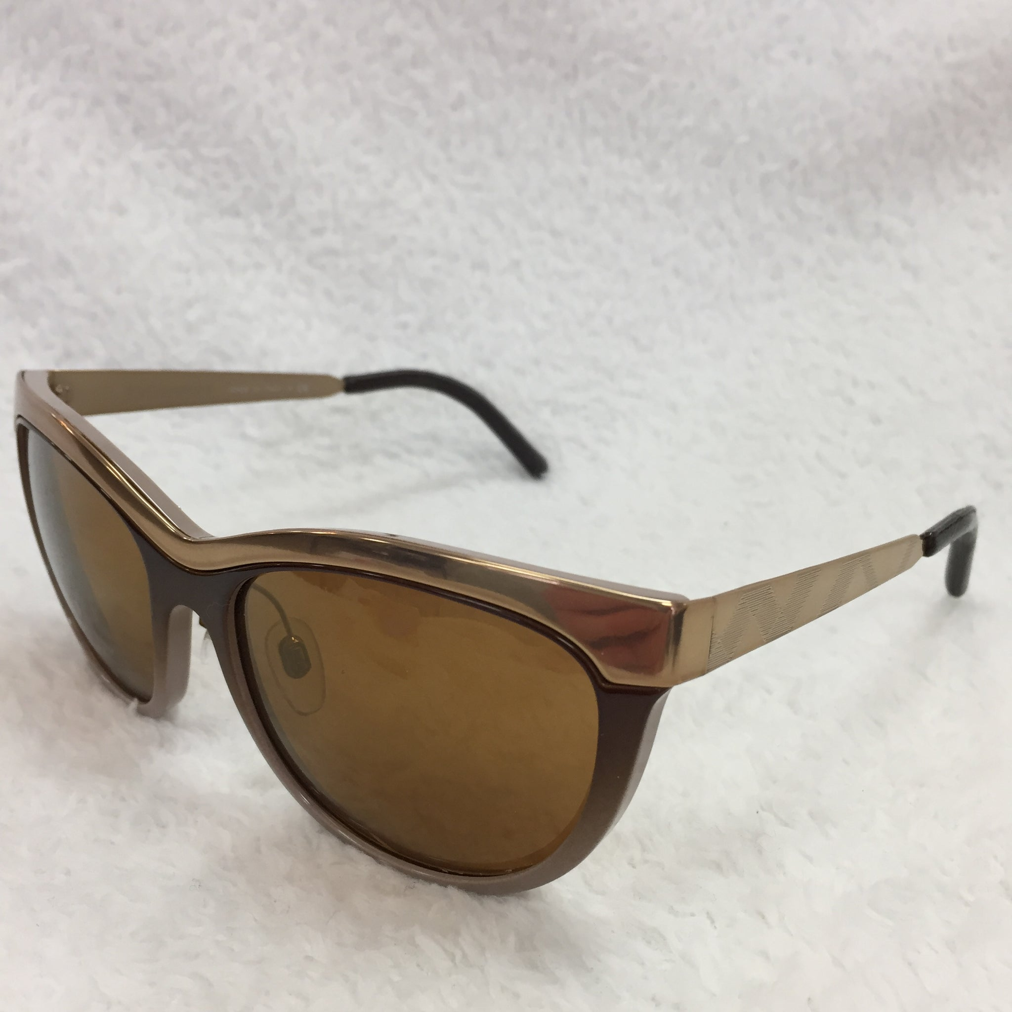 c7534768727c Load image into Gallery viewer, Burberry Bronze Cat Eye Sunglasses ...