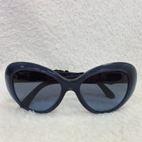 Authentic Chanel Blue Flower Sunglasses
