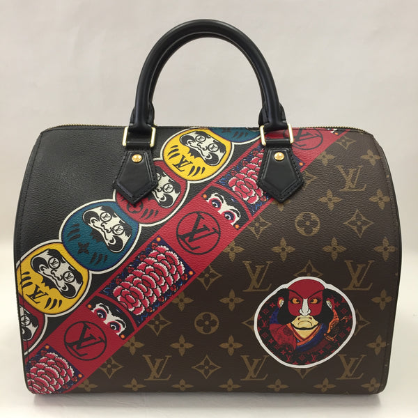 Louis Vuitton Ltd Edition Cruise 2018 Kabuki Speedy 30