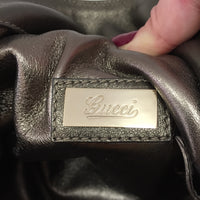 Authentic Gucci Metallic Indy