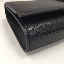 Load image into Gallery viewer, Saint Laurent Black on Black Kate Clutch