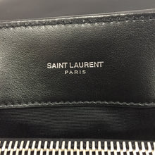 Load image into Gallery viewer, Saint Laurent Black Top Handle LouLou