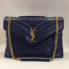 Load image into Gallery viewer, Saint Laurent Sapphire Blue LouLou