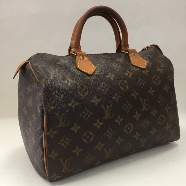 Authentic Louis Vuitton Vintage Monogram Speedy 30