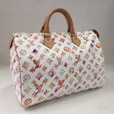 Authentic Louis Vuitton Watercolour Speedy 35