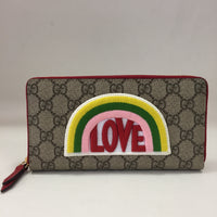 Gucci Rainbow Love Zippy Wallet