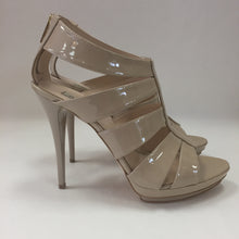 Load image into Gallery viewer, Nina Lilou Beige Patent Sandals Women's Size 40